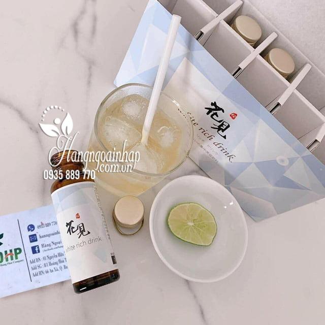 Nước uống trắng da cao cấp White Rich Drink của Nhật Bản 8