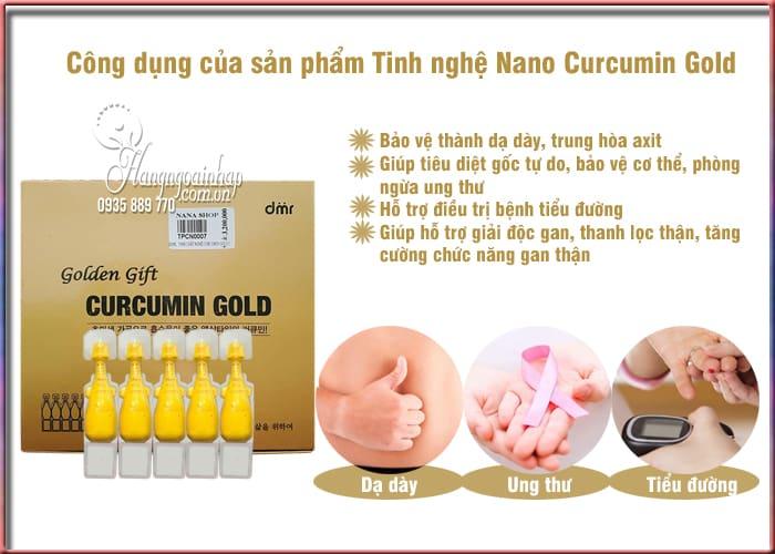 Tinh nghệ Nano Curcumin Gold Hàn Quốc - Liệu pháp hiện đại 3