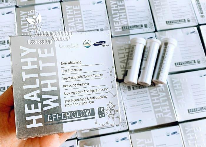Viên sủi trắng da Efferglow Healthy White Hàn Quốc 3 lọ x 10 viên 9