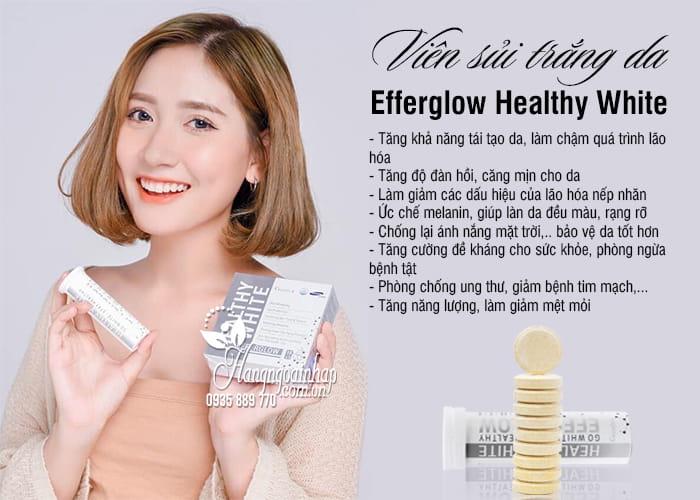 Viên sủi trắng da Efferglow Healthy White Hàn Quốc 3 lọ x 10 viên 6