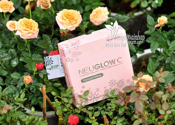Viên sủi trắng da NeuGlow C Glutathione & Vitamin C 28 viên 9