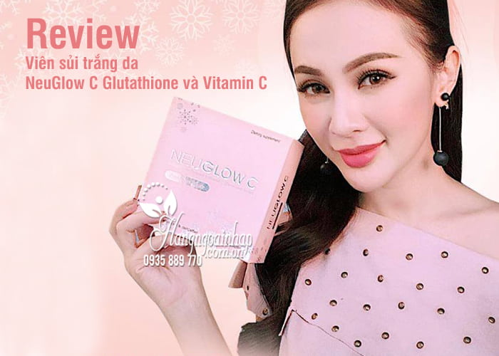Viên sủi trắng da NeuGlow C Glutathione & Vitamin C 28 viên 6