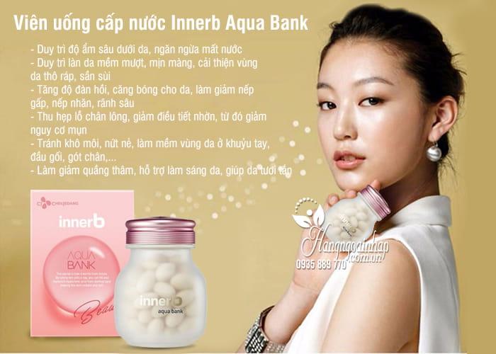 Viên uống cấp nước Innerb Aqua Bank 56 viên Hàn Quốc 3