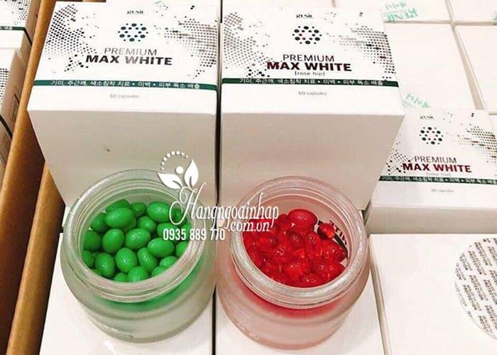 Viên uống trắng da Premium Max White Genie Hàn Quốc tốt nhất 1