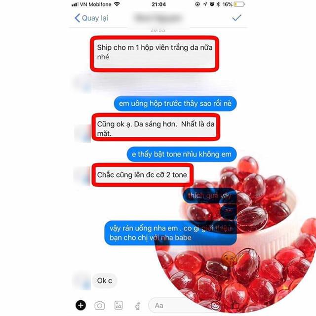Mời bạn xem review một số phản hồi về premium max white genie từ khách hàng trên Facebook ảnh 1
