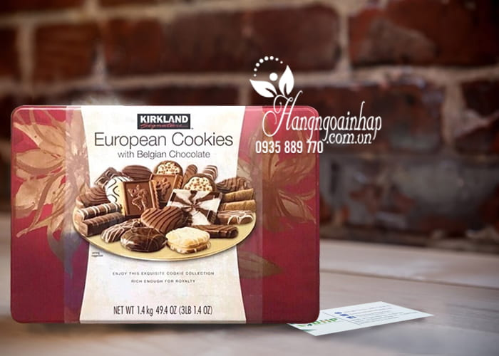 Bánh Chocolate European Cookies 1,4kg Của Mỹ 1