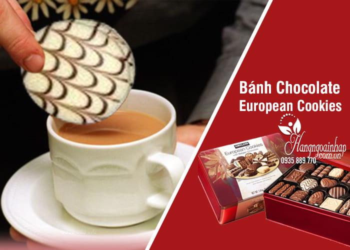 Bánh Chocolate European CookiesCủa Mỹ (Hộp 1,4kg)
