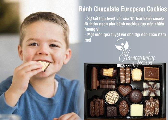 Bánh Chocolate European Cookies 1,4kg Của Mỹ 2