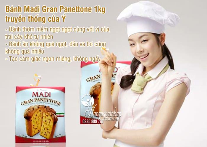 Bánh Madi Gran Panettone 1kg truyền thống của Ý 1