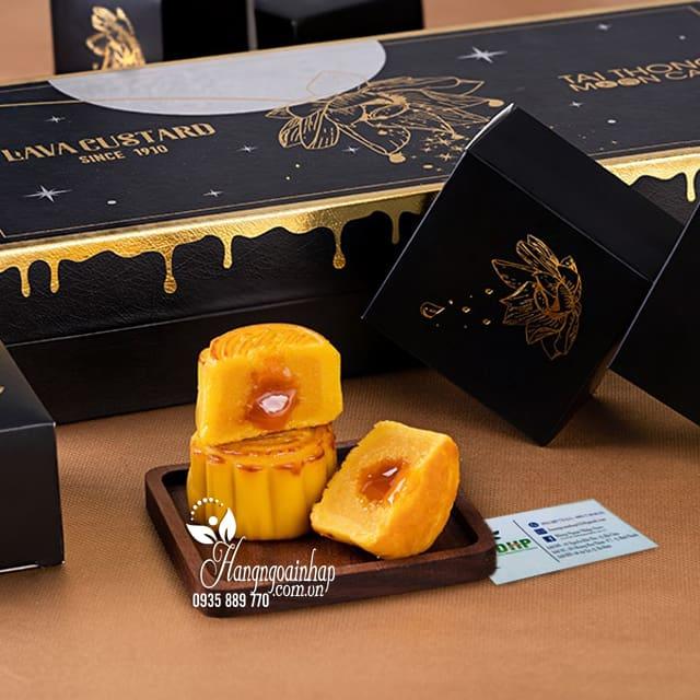 Bánh trung thu Lava Custard Tai Thong MoonCare hộp 8 cái 9