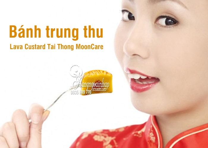 Bánh trung thu Lava Custard Tai Thong MoonCare hộp 8 cái 1