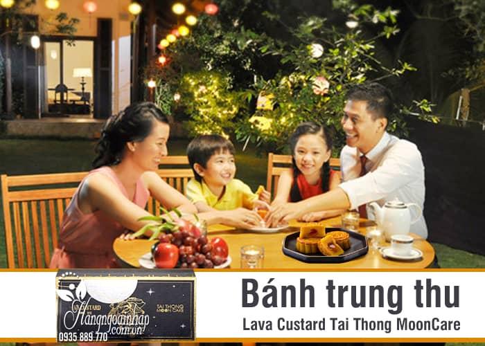 Bánh trung thu Lava Custard Tai Thong MoonCare hộp 8 cái 7
