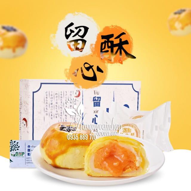 Bánh trung thu ngàn lớp Liu Xin Su trứng muối chảy Đài Loan 1