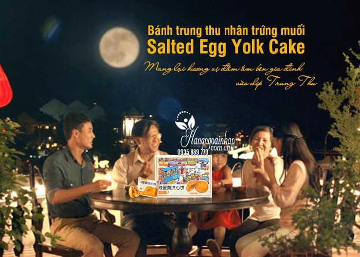 Bánh trung thu nhân trứng muối Pamiriter Salted Egg Yolk Cake 0