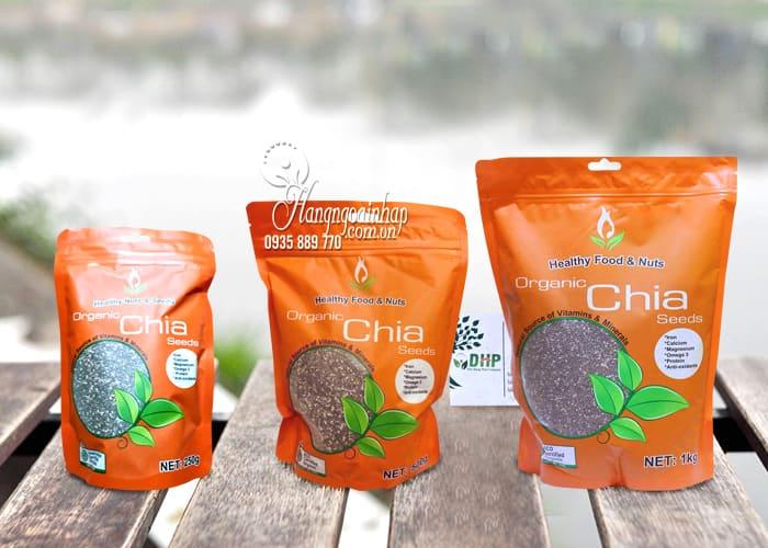 Hạt chia hữu cơ Healthy Nuts And Seeds Organic của Úc 1