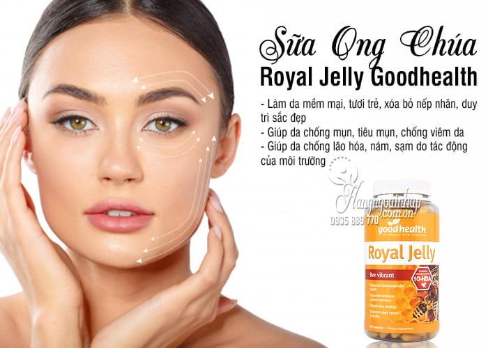 Sữa Ong Chúa Royal Jelly Goodhealth 365 Viên Của Úc 5