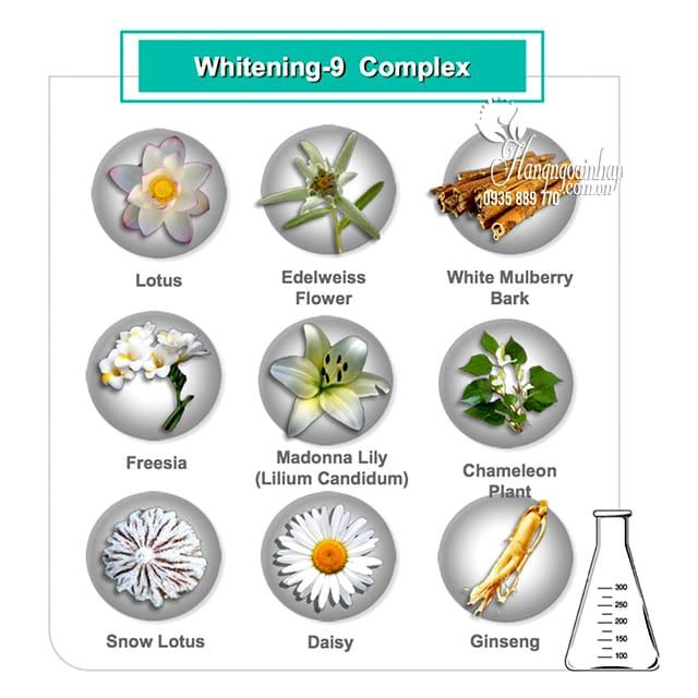 Kem dưỡng trắng da Cloud 9 Complex Whitening Cream 50ml Hàn 3