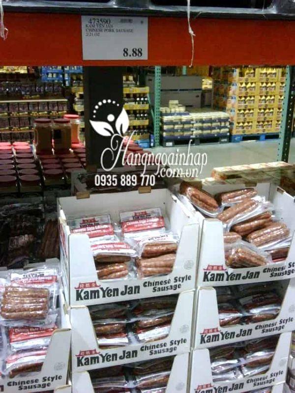 Lạp xưởng thượng hạng Kam Yen Jan Chinese Style Sausage của Mỹ 45
