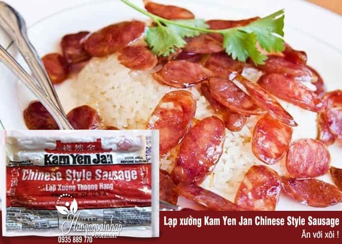 Lạp xưởng thượng hạng Kam Yen Jan Chinese Style Sausage của Mỹ 2