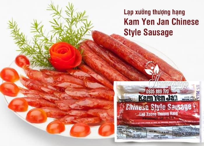 Lạp xưởng thượng hạng Kam Yen Jan Chinese Style Sausage của Mỹ
