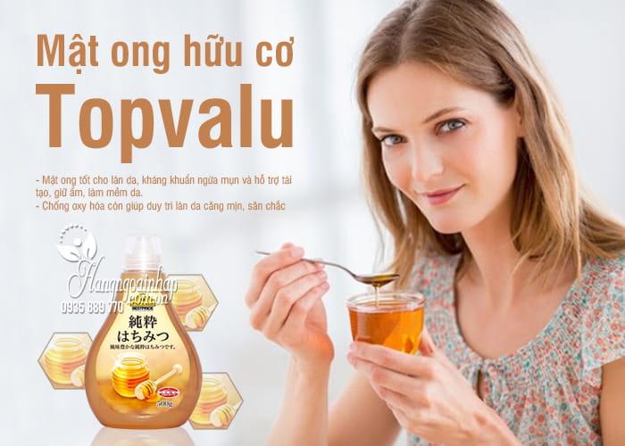 Mật ong hữu cơ Topvalu 500g Nhật Bản - Món quà sức khỏe 1