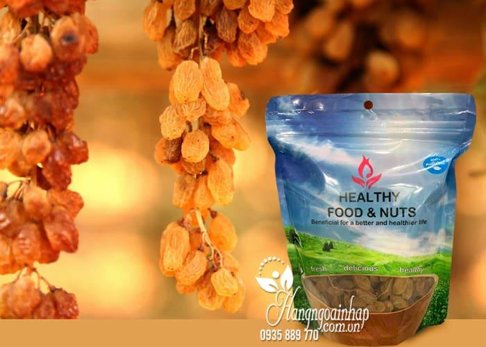 Nho khô nguyên cành Úc Healthy Food & Nuts 350g - nho hữu cơ 5
