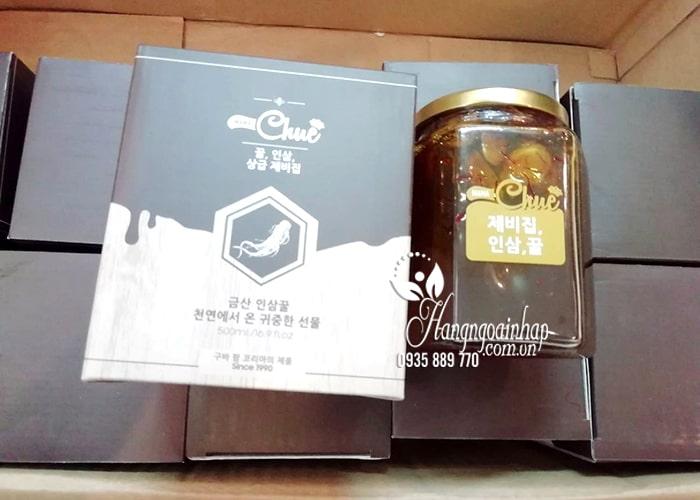 Sâm mật ong nghệ tây Saffron Mama Chuê Hàn Quốc hũ 500g 1