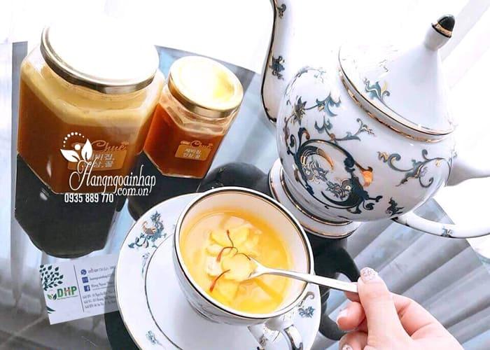 Sâm mật ong nghệ tây Saffron Mama Chuê Hàn Quốc hũ 500g 8