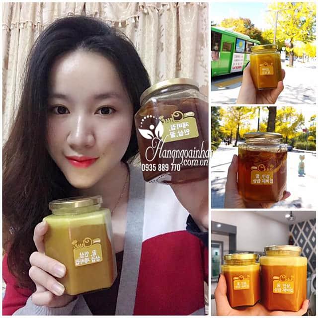 Sâm mật ong nghệ tây Saffron Mama Chuê Hàn Quốc hũ 500g 4
