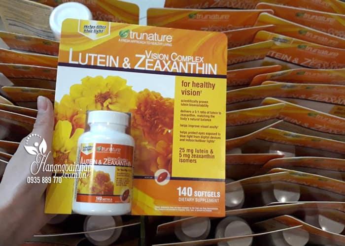 Viên bổ mắt Trunature Vision Complex Lutein & Zeaxanthin 140v 6