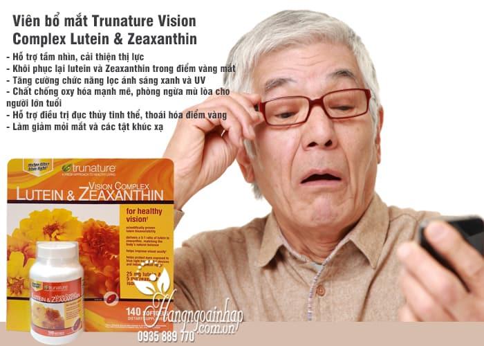 Viên bổ mắt Trunature Vision Complex Lutein & Zeaxanthin 140v 3