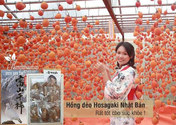Hồng dẻo Hoshigaki Nhật Bản 800g hộp 8 trái cao cấp chính hãng 4
