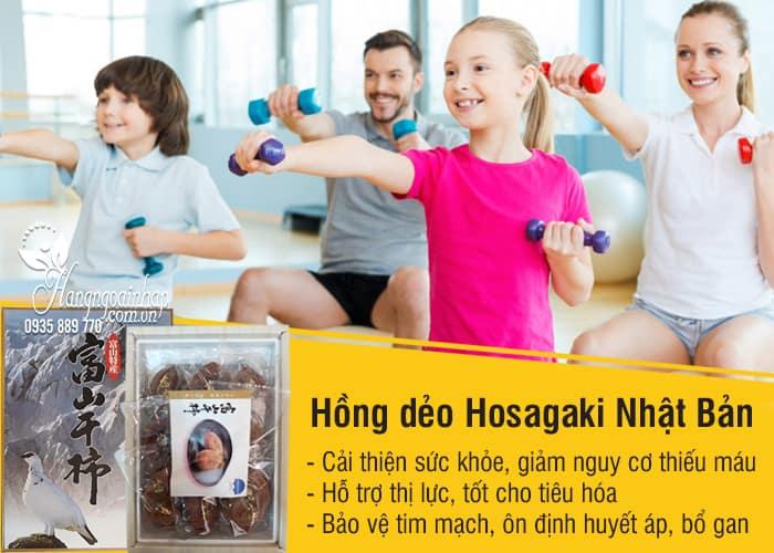 Hồng dẻo Hoshigaki Nhật Bản 800g hộp 8 trái cao cấp chính hãng 1