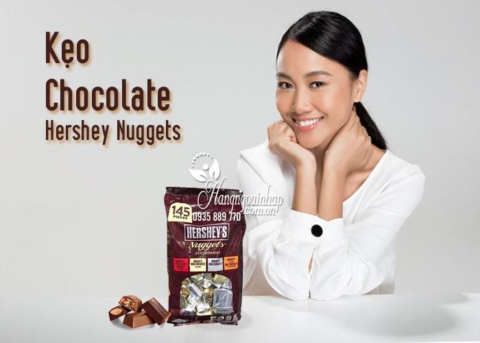 Kẹo Chocolate Hershey Nuggets 1,47Kg Của Mỹ 2