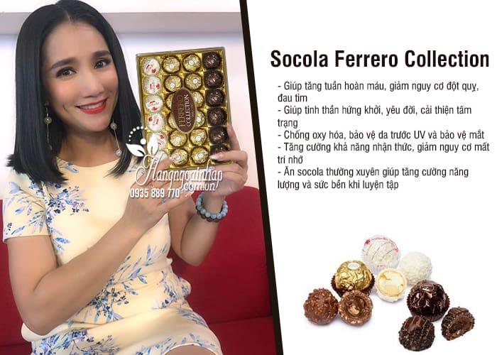 Socola Ferrero Collection 24 viên 269g của Ý 3