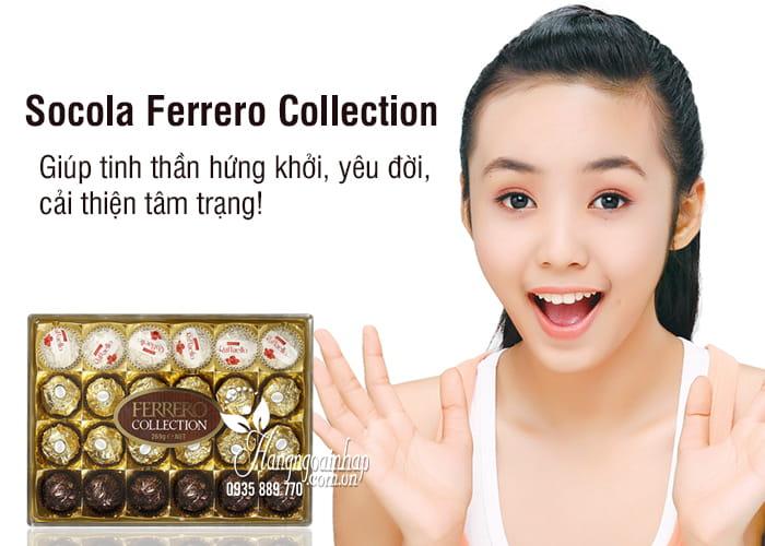 Socola Ferrero Collection 24 viên 269g của Ý 1