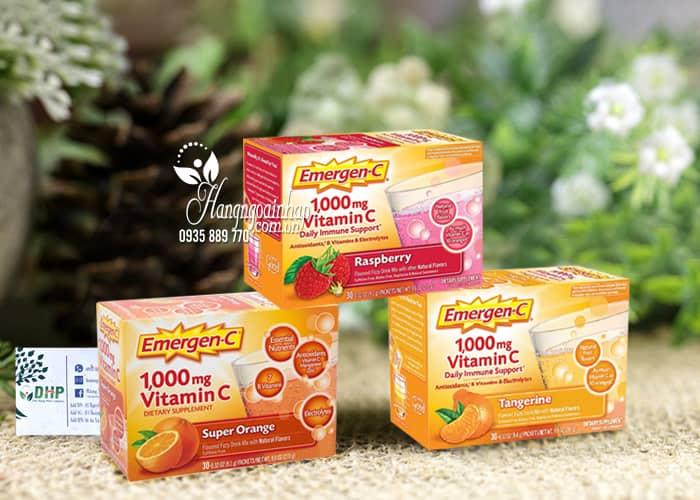Bột hòa tan Emergen-C 1000mg Daily Immune Support 90 gói 3
