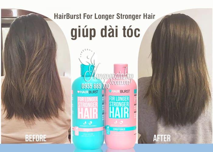 Bộ dầu gội xả HairBurst For Longer Stronger Hair giúp dài tóc 11