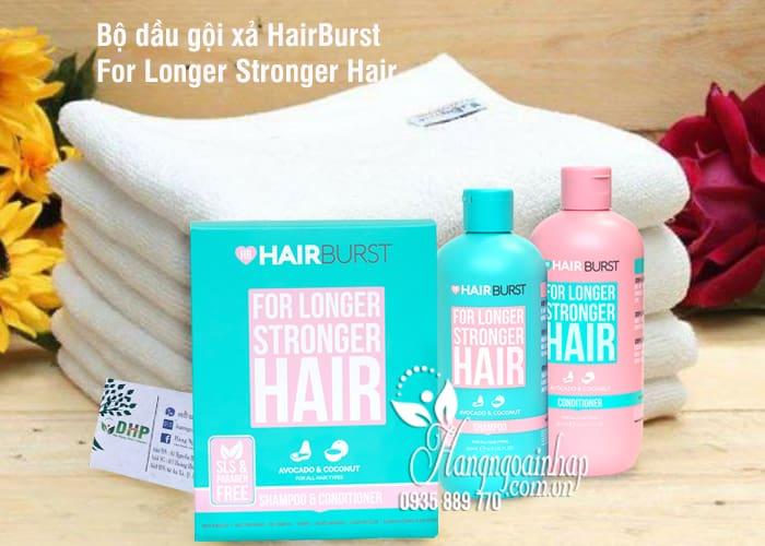 Bộ dầu gội xả HairBurst For Longer Stronger Hair giúp dài tóc 2