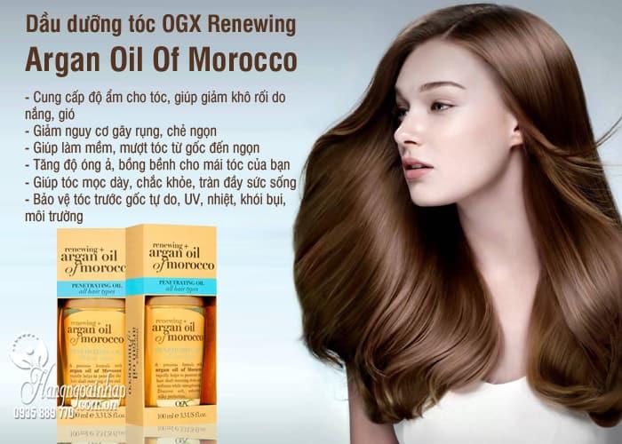 Dầu dưỡng tóc OGX Renewing Argan Oil Of Morocco 100ml 5