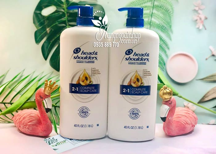 Dầu gội Head & Shoulders 2 in 1 Complete Scalp Care 1,18 lít 3
