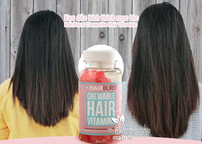 Kẹo dẻo kích thích mọc tóc HairBurst Chewable Hair Vitamins 7