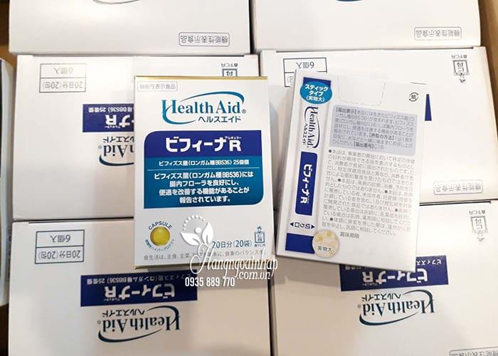 Men vi sinh Health Aid Bifina R 20 gói - Hỗ trợ tiêu hóa 00