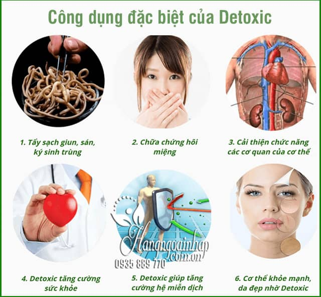 Thuốc Detoxic của Nga diệt ký sinh trùng, làm sạch ruột 5