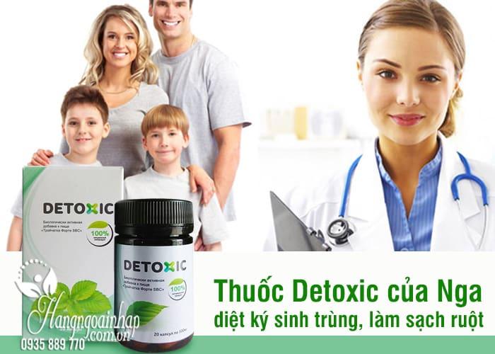 Thuốc Detoxic của Nga diệt ký sinh trùng, làm sạch ruột  6
