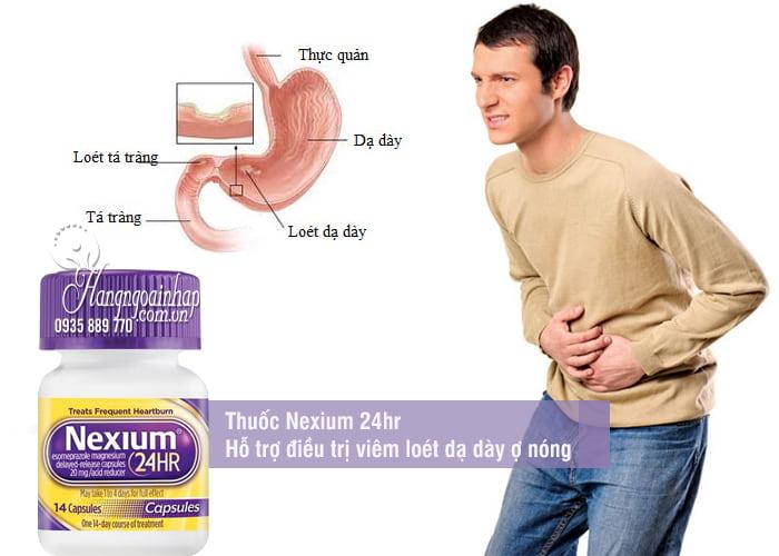 Thuốc Nexium 24hr - Hỗ trợ điều trị viêm loét dạ dày ợ nóng 6