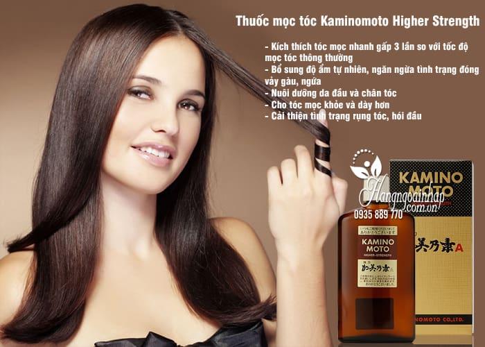 Thuốc mọc tóc Kaminomoto Higher Strength - dưỡng tóc dày hơn 2