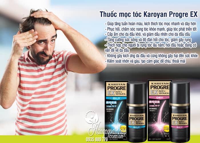 Thuốc mọc tóc Karoyan Progre EX 120ml của Nhật Bản 3