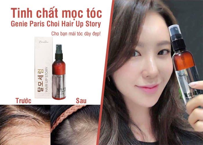 Tinh chất mọc tóc Genie Paris Choi Hair Up Story Hàn Quốc 4