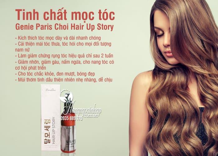 Tinh chất mọc tóc Genie Paris Choi Hair Up Story Hàn Quốc 2